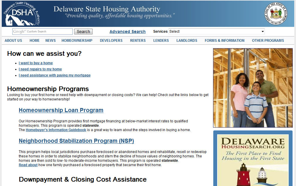 First Time Home Buyer Program In Delaware Salethepiratebay