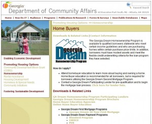 Georgia first time home buyer grants