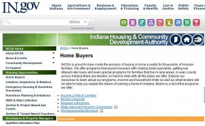 Indiana First Time Home Buyer Grants