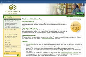 Iowa First Time Home Buyer Grants