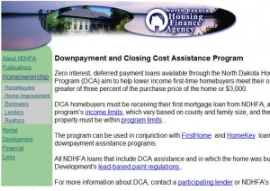 North Dakota First Time Home Buyer Grants