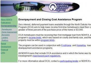 North Dakota First Time Home Buyer Grants