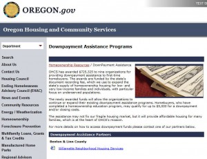Oregon First Time Home Buyer Grants