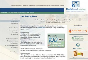 Rhode Island First Time Home Buyer Grants