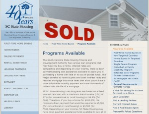 South Carolina First Time Home Buyer Grants