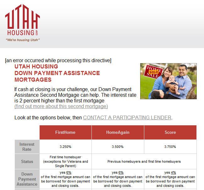 utah first time home buyer grants. Black Bedroom Furniture Sets. Home Design Ideas