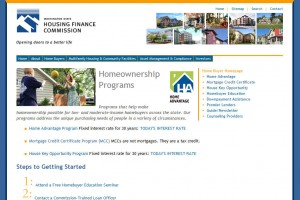 Washington First Time Home Buyer Grants 300x200 The Washington State Housing Finance Commission Promotes Home Ownership