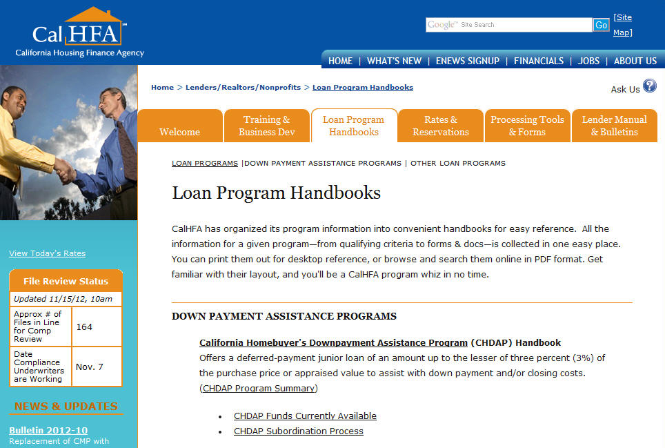first time home buyer loans california - 2