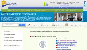 Louisiana First Time Home Buyer Programs