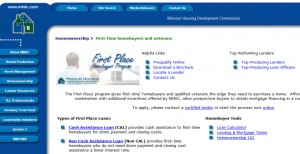 Missouri First Time Home Buyer Programs