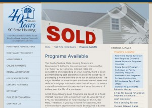 South Carolina First Time Home Buyer Programs